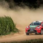 Positive debut for Toyota at Tour Natal Rally