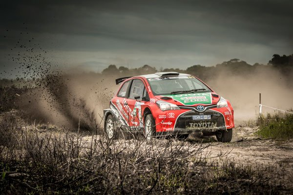 De Villiers and Swan - Team Castrol Toyota