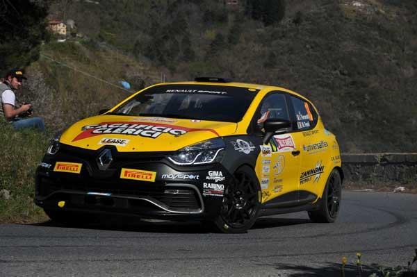 Ferrarotti e Fenoli - Rallye Sanremo 2015