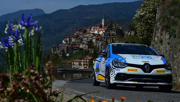 Rossetti e Chiarcossi - Rallye Sanremo 2015