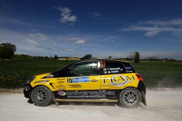 Ferrarotti & Fenoli - Rally Adriatico 2015