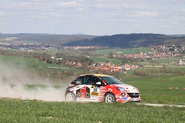 Neuville Kohl - ADAC Opel Rallye Cup