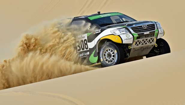 Al-Rajhi Gottschalk - Overdrive - Pharaons Rally 2015