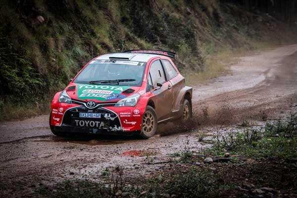 Poulter Coetzee - Castrol Toyota Team