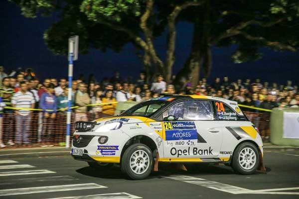 Bergkvist - SATA Rallye Açores 2015