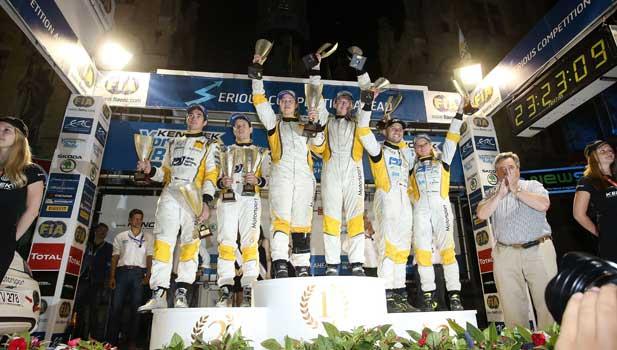 Podium Opel - Kenotek Ypres Rally
