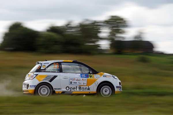 Bergkvist Sjöberg - auto24 Rally Estonia