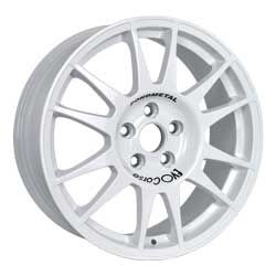 Alloy wheel for tarmac rally