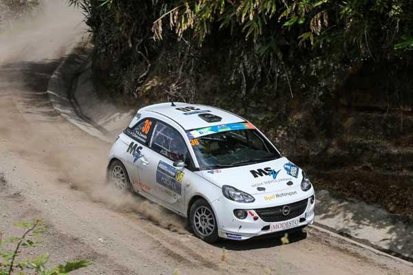 Aleksander Zawada - Rally Acores 2015