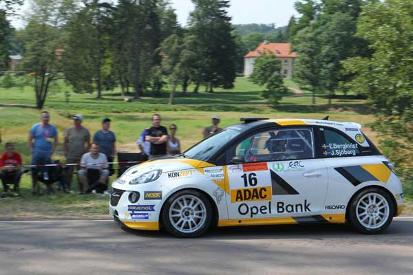 Emil Bergkvist - ADAC Rallye Deutschland 2015