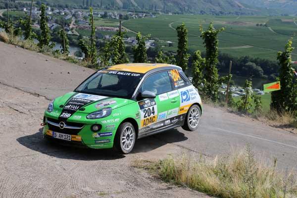 Julius Tannert - ADAC Rallye Deutschland 2015