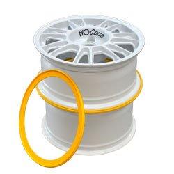 Wheel stacking ring