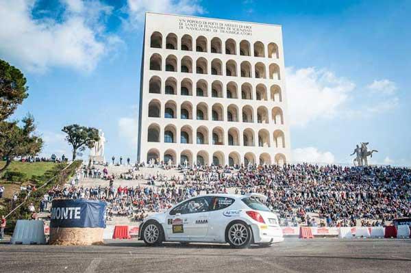 Andreucci - Rally Roma Capitale 2013