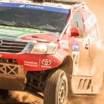 Castrol Team Toyota looking for the Donaldson Championship title