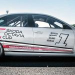 Important test for the new Octavia Cup car