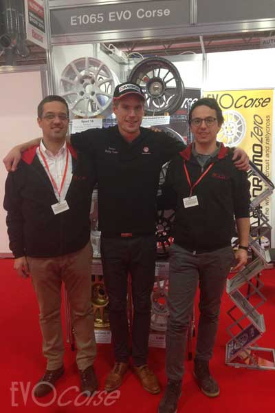 Vauxhall - Adielsson at EVO Corse booth