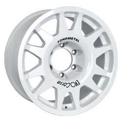 Alloy rim for cross-country rally
