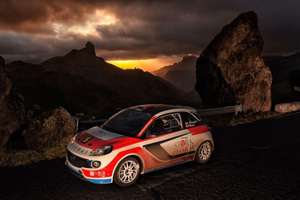 Łukasz Pieniążek - Opel ADAM R2