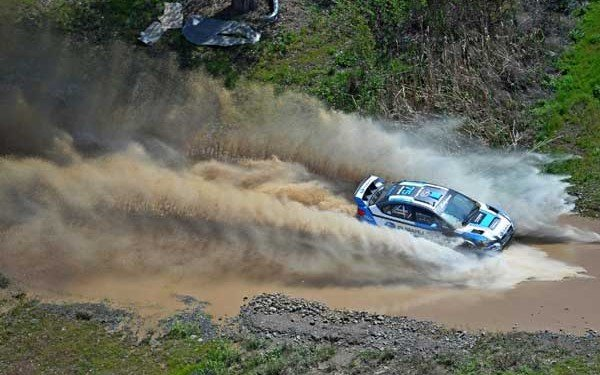 Higgins - Subaru Rally Team USA