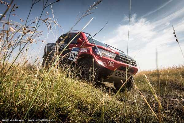 Anthony Taylor and Dennis Murphy - Toyota Gazoo Racing SA