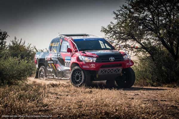 Leeroy Poulter and Rob Howie - Toyota Gazoo Racing SA