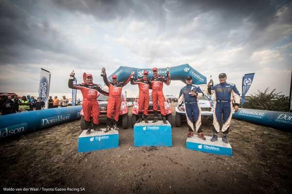 Toyota Gazoo Racing SA - Podium