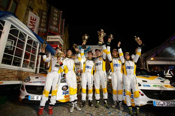 Podium Ypres Rally 2016