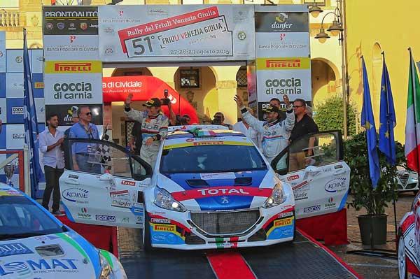 Andreucci Andreussi - Rally Friuli Venezia Giulia 2015