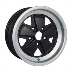 The alloy wheel for classic Porsche cars