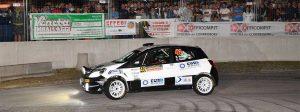 black and white Clio with SanremoCorse