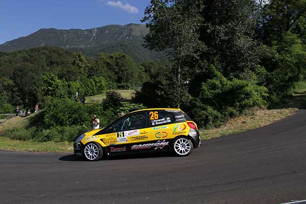 Ferrarotti at Rally Friuli Venezia Giulia with EVO Corse wheels