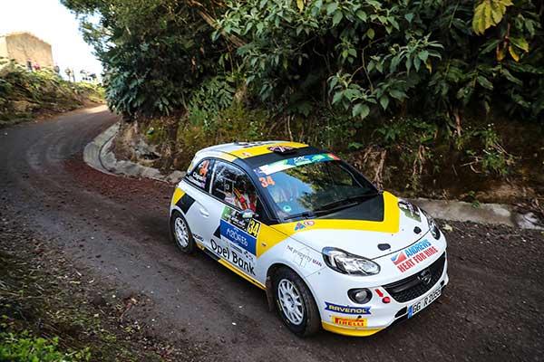 Chris Ingram on Opel Adam with EVO Corse wheels