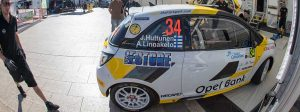 Jari Huttunen on Opel Adam with EVO Corse wheels