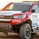 Toyota announces the line-up for the Dakar 2018