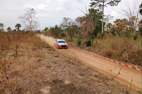 Gary Chaynes - African Rally Championship 2018
