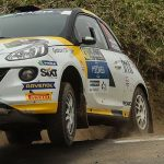 The Opel Rallye Junior Team opens the season with a podium