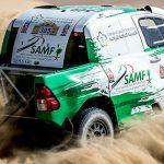 Overdrive Racing on the Podium of the Dubai International Baja
