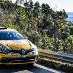 Great show at the Rallye Sanremo in the Renault Trophies