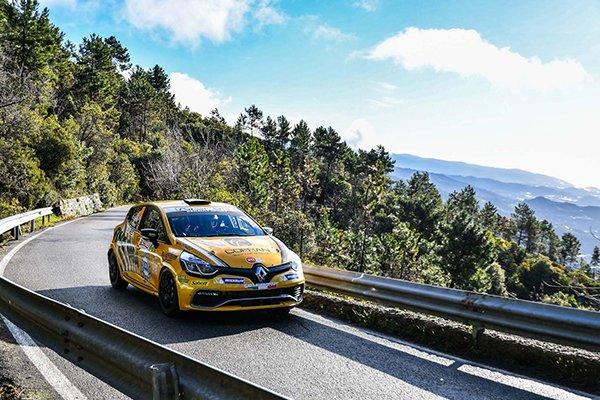 Canzian - Clio R3T - Rallye Sanremo 2018