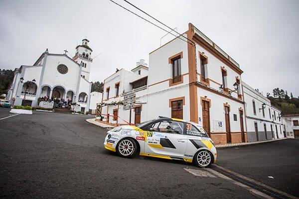 Rally Islas Canarias 2018 - Kristensson - Opel ADAM R2