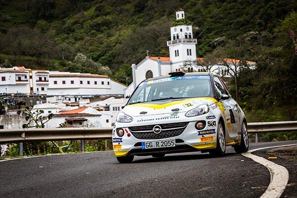 Rally Islas Canarias 2018 - Sesks - Opel ADAM R2