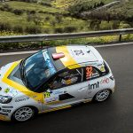 Another podium finish for Mārtiņš Sesks in the Opel ADAM R2
