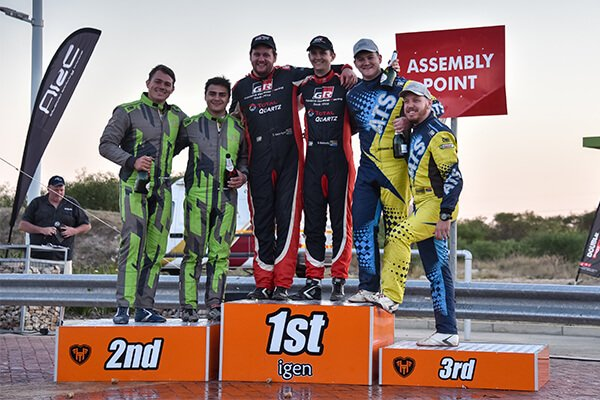Podium - Algoa Rally 2018