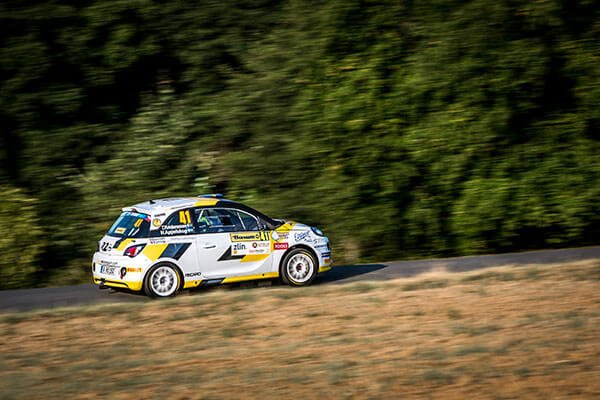 Kristensson Opel Adam R2 Barum Rally