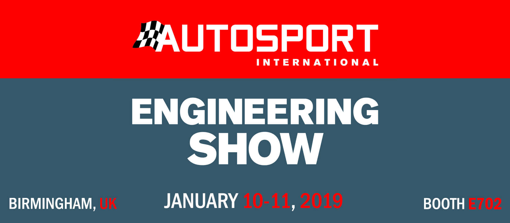 Autosport International 2018, Booth E720