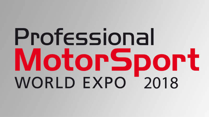 Professional Motorsport World Expo 2018, Booth 5042 7-9 November