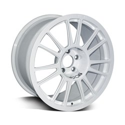 Forged alloy wheel for racing